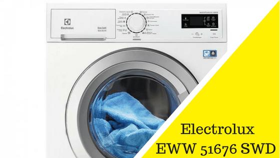 Electrolux EWW 51676 SWD