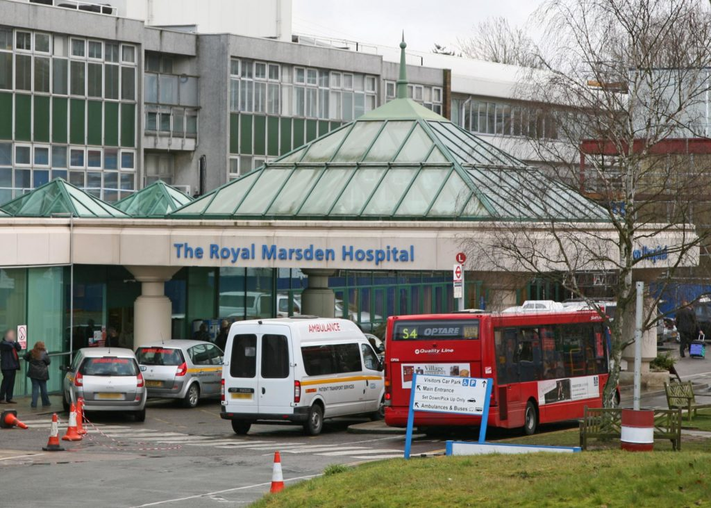 The Royal Marsden Hospital cancer clinic