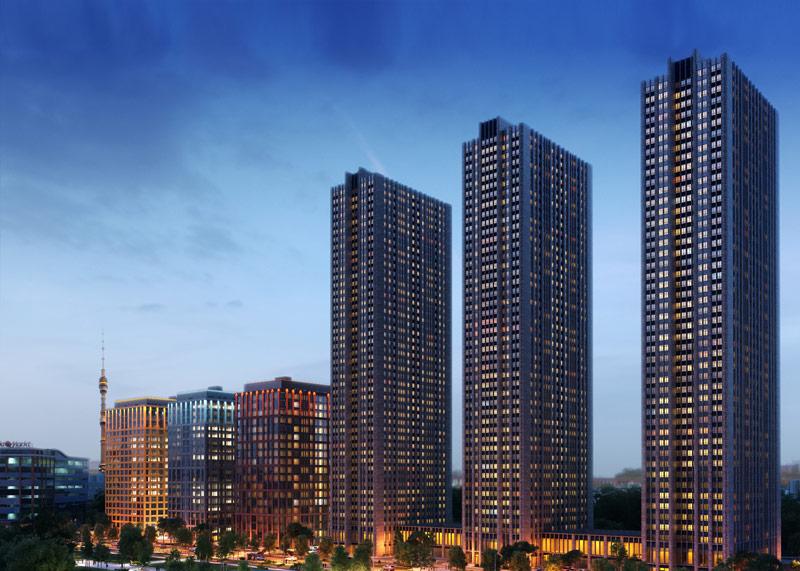 Пример построенной недвижимости MR Group 2