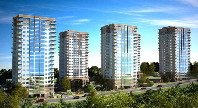 Пример построенной недвижимости MR Group