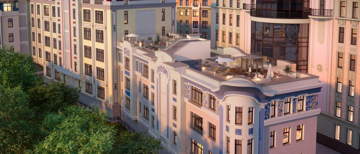 Пример построенной недвижимости Галс-Девелопмент 2