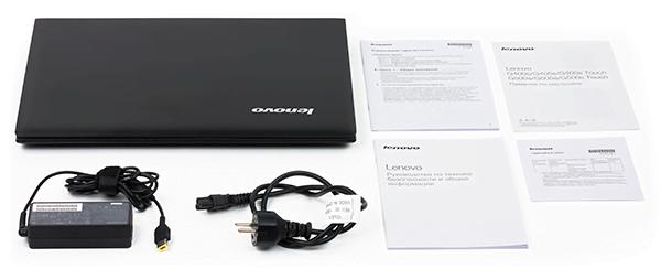 Комплектация Lenovo IdeaPad G505s