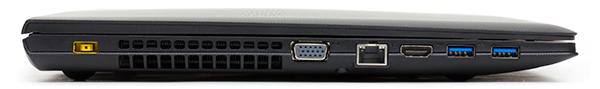 Разъемы Lenovo IdeaPad G505s