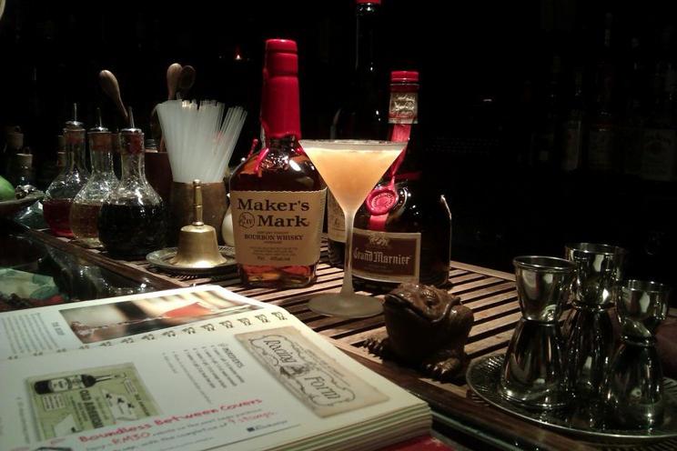 Столик в Chainaya. Tea & Cocktails