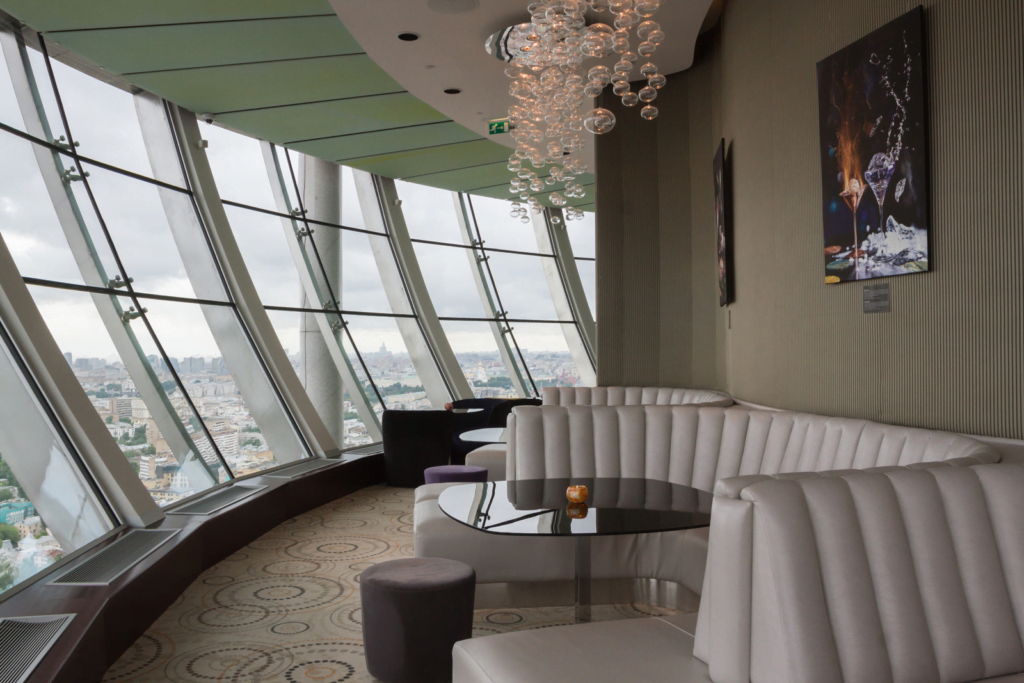 Вид из City Space Bar & Restaurant