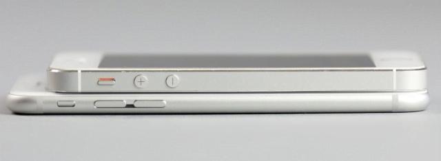 Сравнение iPhone 5s и 6