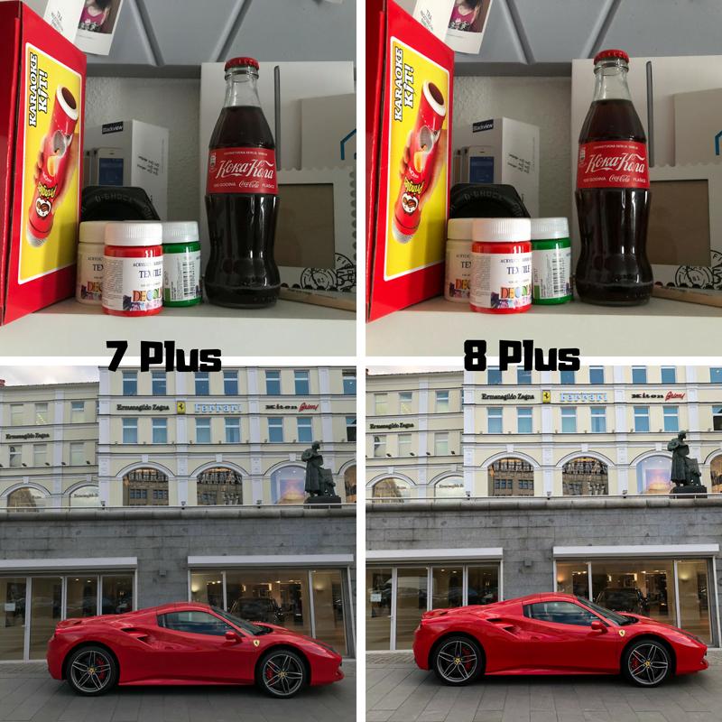 Сравнение камеры iPhone 7 plus и 8 plus