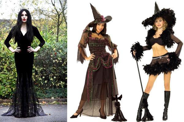 Костюм ведьмы на хеллоуин