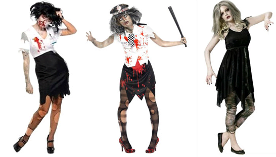 Костюм зомби на хеллоуин