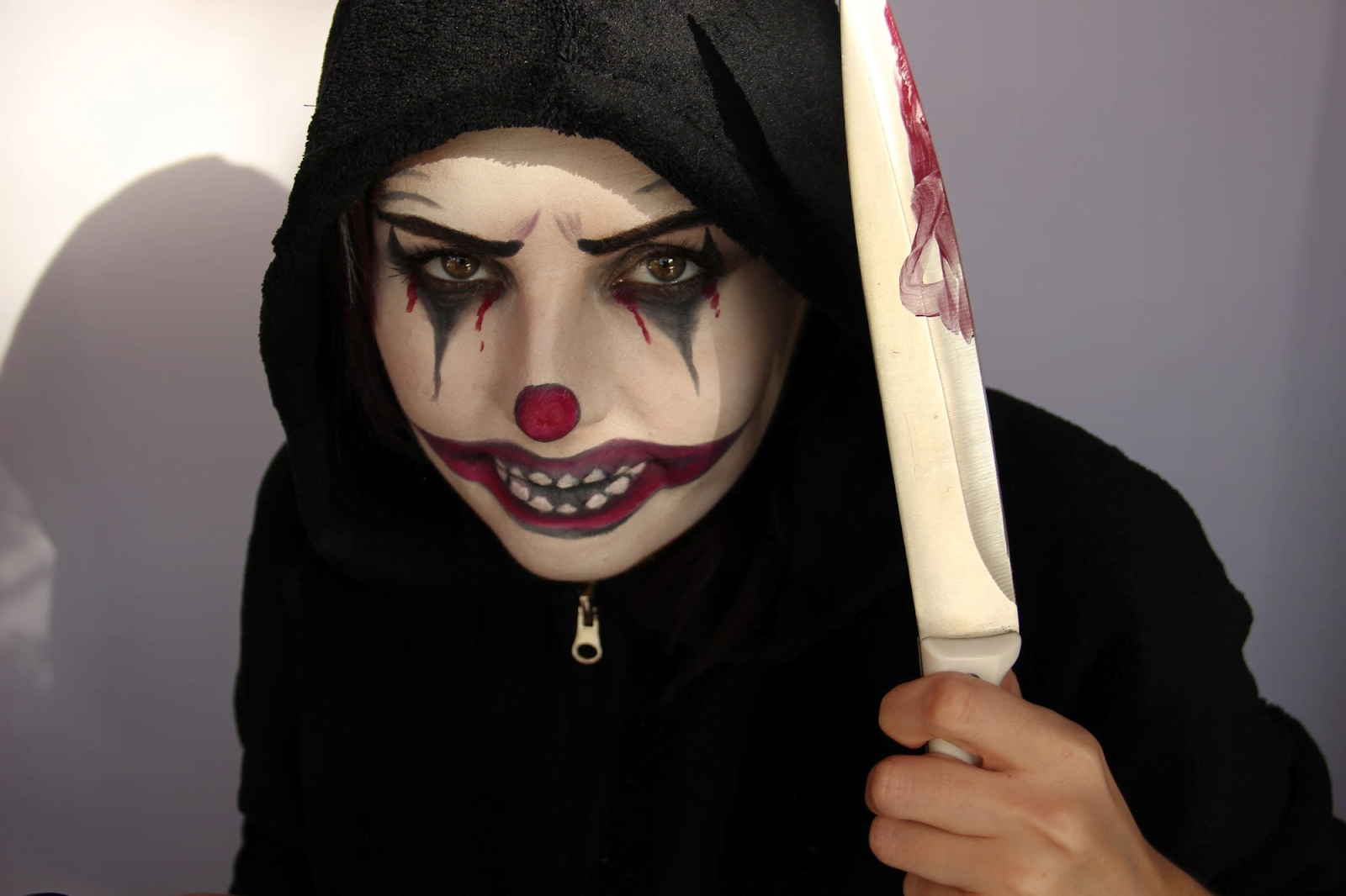 Образ Джефф убийца на хеллоуин