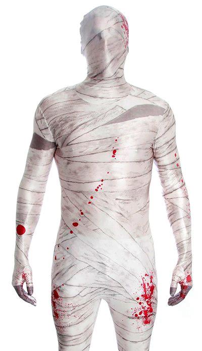 Образ мумии на хеллоуин