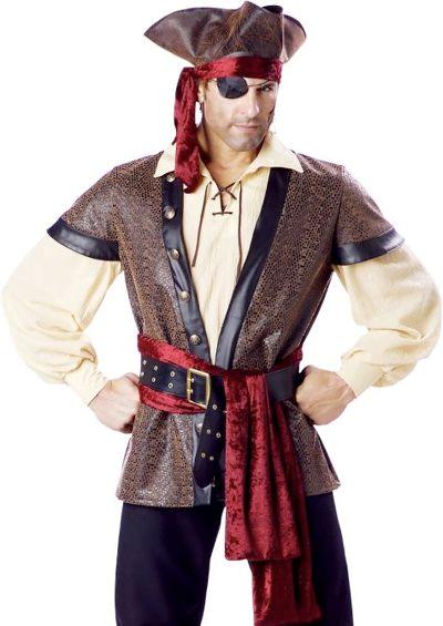Образ пирата на хеллоуин