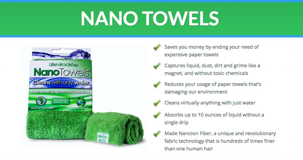 Nano towels pros 2