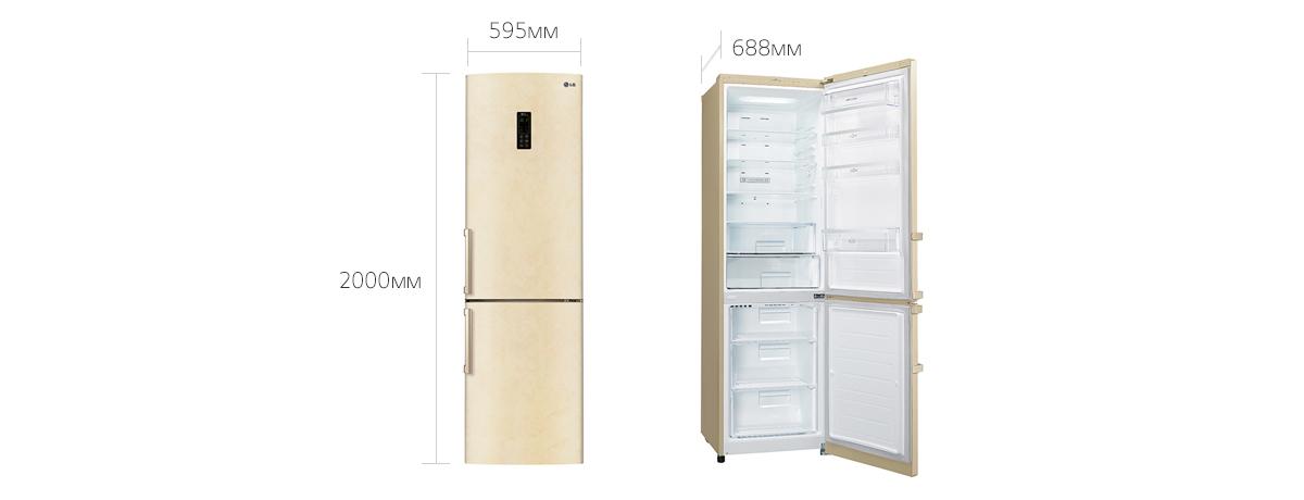 Холодильник LG GA-B489 YEQZ